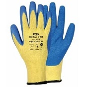 Gants anti coupure Kevlar enduit Latex Metal Pro (la paire)