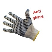 Gants antidérapants manutention (la paire)